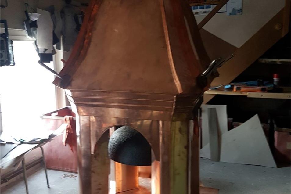 Ein Handwerksbetrieb aus Obercunnersdorf hat ihn restauriert.