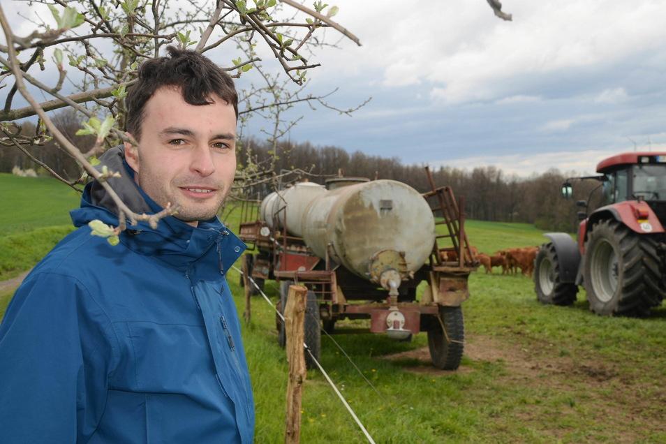 Felix Tzschoch ist Geschäfstführer der Schöpstal Agrar GmbH.