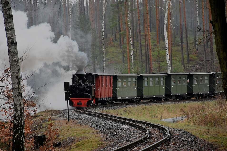 Die Waldeisenbahn Muskau ist ein beliebtes Ausflugsziel für Einheimische und Touristen. Um weiter erfolgreich zu sein, sind Ideen und viel Engagement nötig.