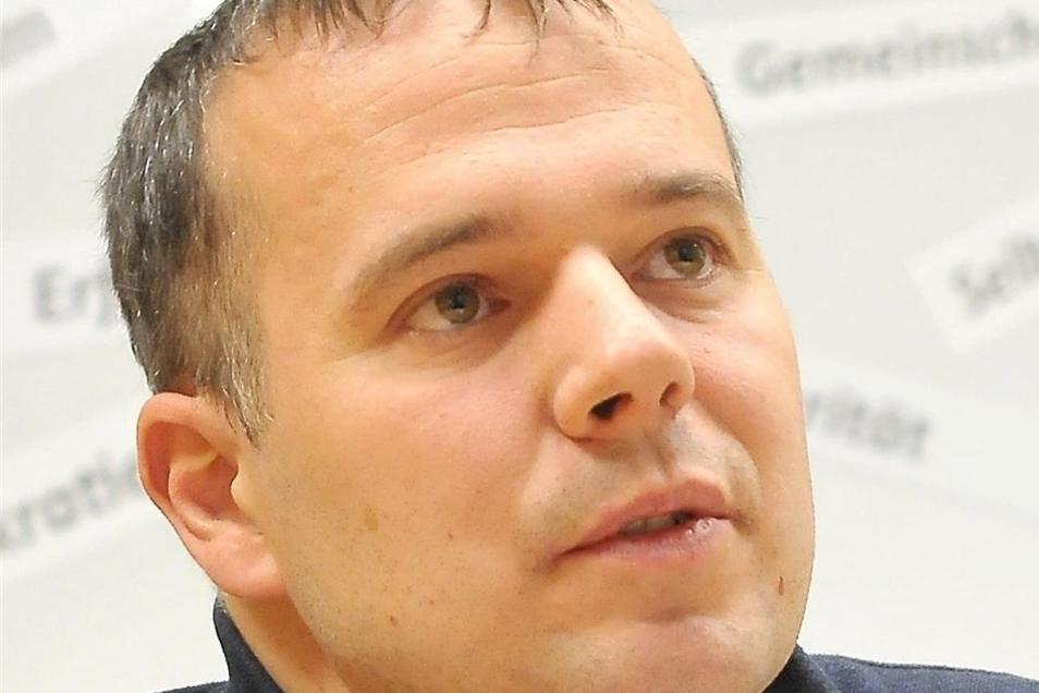 Ronny Winkler leitet den Verband für Jugendarbeit und Jugendweihe in der Region Meißen und ist stellvertretender Bundesvorsitzender.