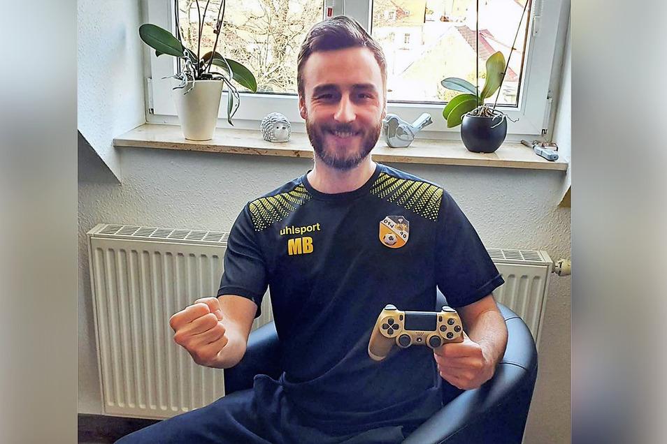 Martin Brunzel hat beim Heimspiel-Cup mit der Playstation eine Nische für sich gefunden.