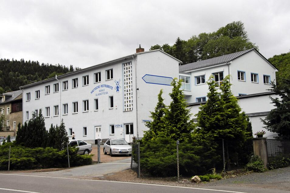 Der Firmensitz von Mühle im Müglitztal. Gegenwärtig wird das Gebäude erweitert.