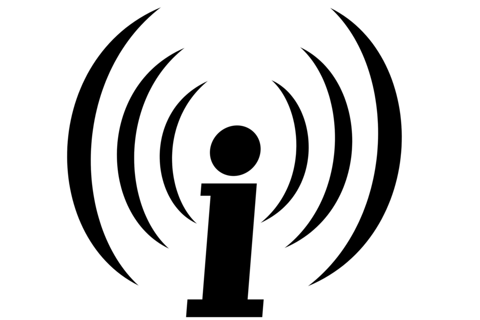 Das Logo der Plattform Indymedia, die seit 2017 offiziell verboten ist.