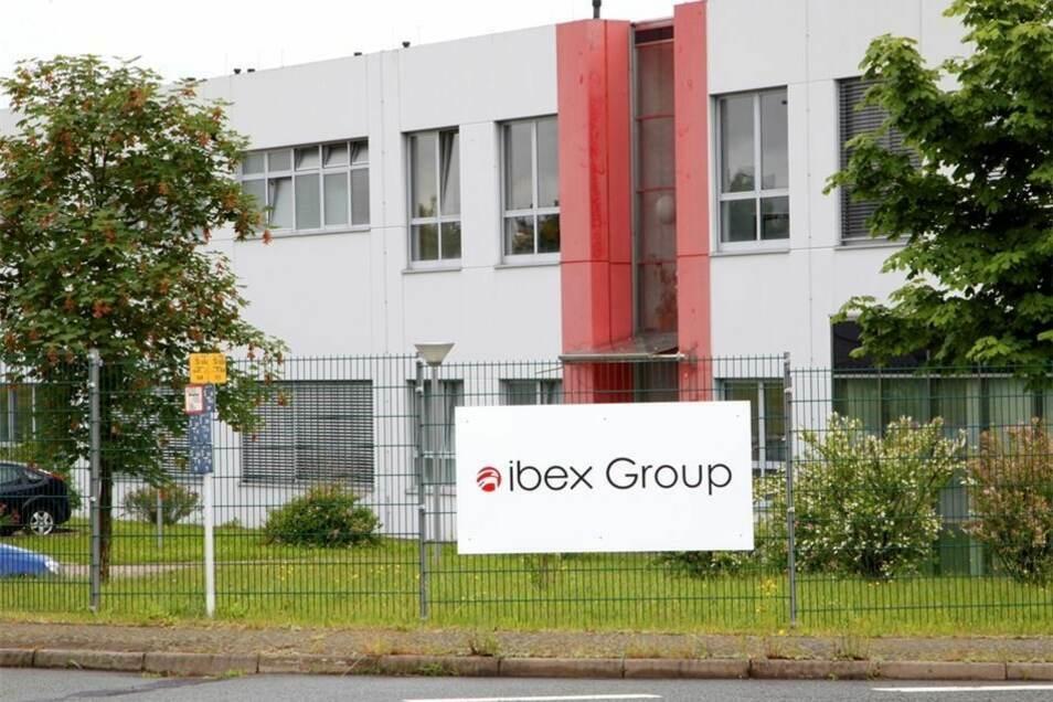 Blick auf das Ibex-Werk in Zittau.