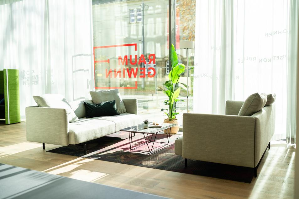 Ideen und Anregungen fürs Zuhause, präsentiert in entspannter Atmosphäre: Das ist Raumgewinn.