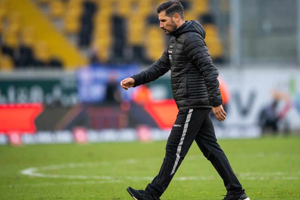 Muss Cristian Fiel bei Dynamo gehen?