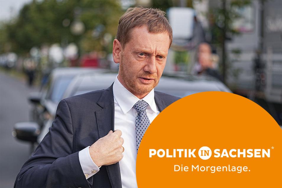 Sachsens Ministerpräsident Michael Kretschmer (CDU) findet zur Wahlniederlage seiner Partei deutliche Worte.