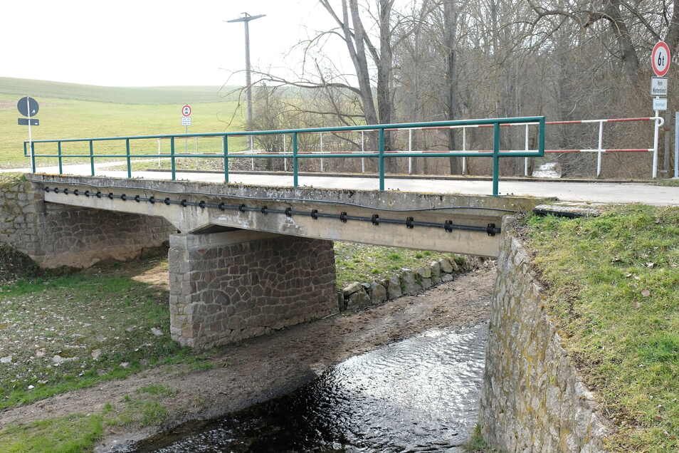 Die Brücke über den Ketzerbach in Piskowitz wird voraussichtlich ab dem 15. März instandgesetzt.