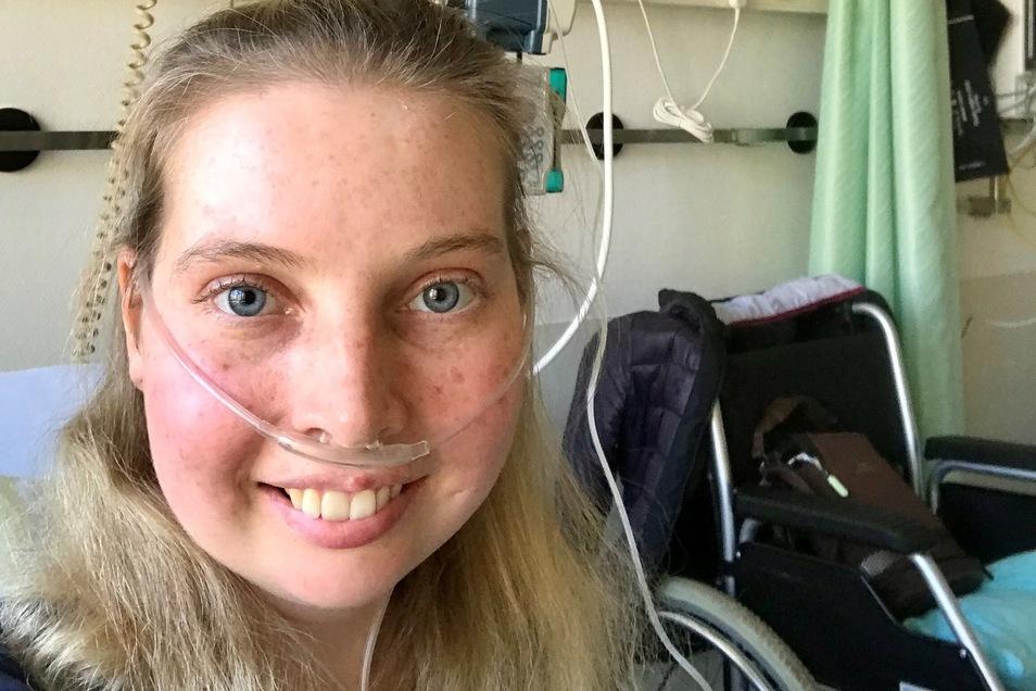 Nora Bürgel wartet auf eine Spenderlunge - und musste nun auch noch das Coronavirus überstehen.