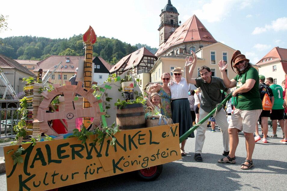 Königstein in Feierlaune: Zum 640. Geburtstag der Stadt 2019 organisierte die Agentur Neuland Zeitreisen ein Stadtfest. Solche Höhepunkte soll es weiter geben - auch ohne Agentur.