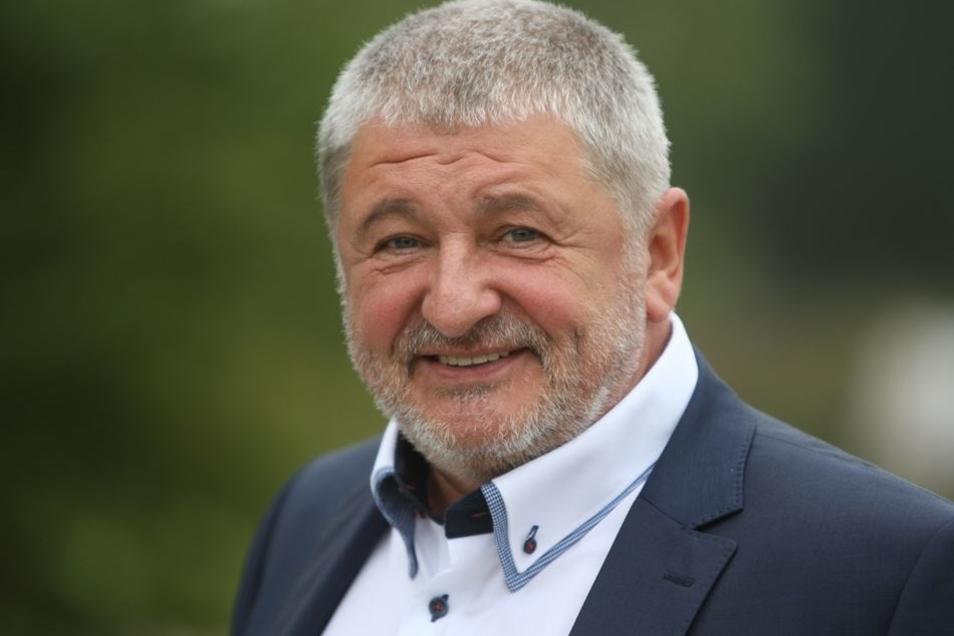 Neustadts Bürgermeister Peter Mühle (NfN)