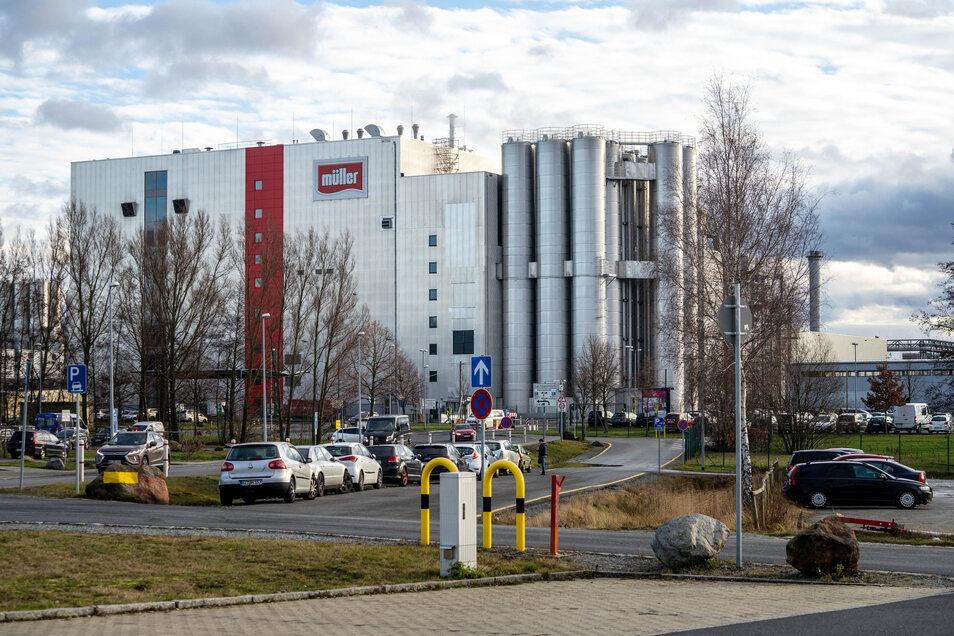 Bei Müllermilch in Leppersdorf sind keine Auswirkungen des Brexit zu spüren. Die Gruppe hat im englischen Shropshire ein Werk, das auch die Rohmilch aus der Umgebung bezieht.