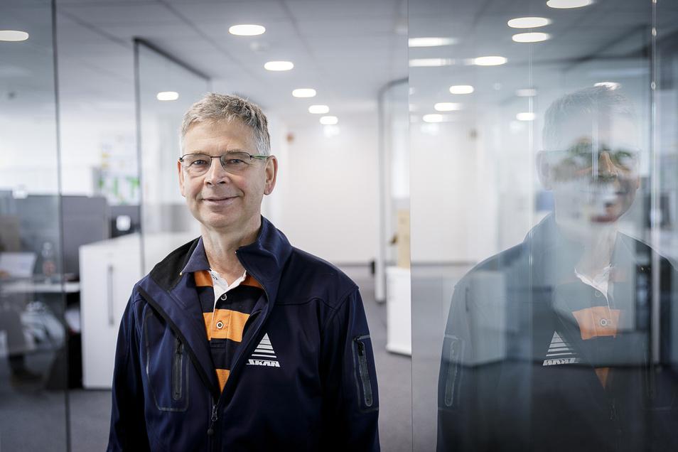 Mario Ludwig leitet den Görlitzer Standort der Skan Deutschland GmbH.