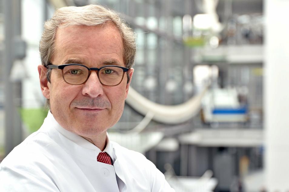 Professor Andreas Stallmach (61) leitet die Post-Covid-Ambulanz am Uniklinikum Jena.
