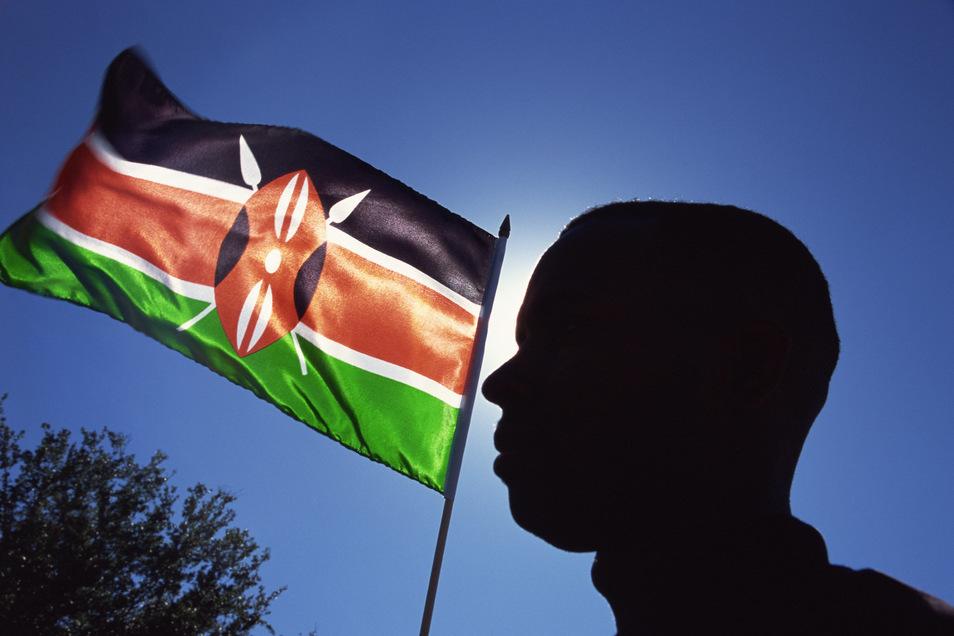 Schwarz, Grün, Rot sind Kenias Nationalfarben – und bald auch in Sachsen Motto?
