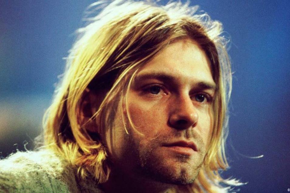 """Auch """"Nirvana""""-Kopf Kurt Cobain (1967 – 1994) ist einer der Auserwählten."""