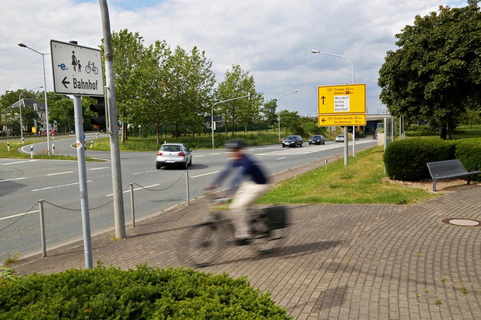 Was Radwege angeht, gibt es in Riesa noch Verbesserungspotenzial, sagt der Radverband ADFC.