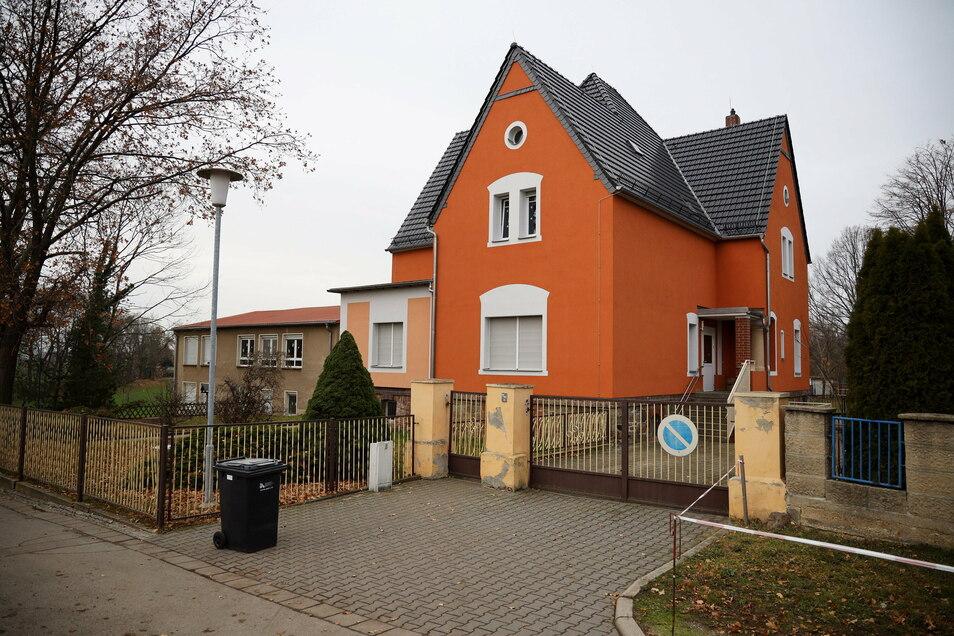 Alles ist wieder dicht, auch die Kindereinrichtung in Stauchitz.