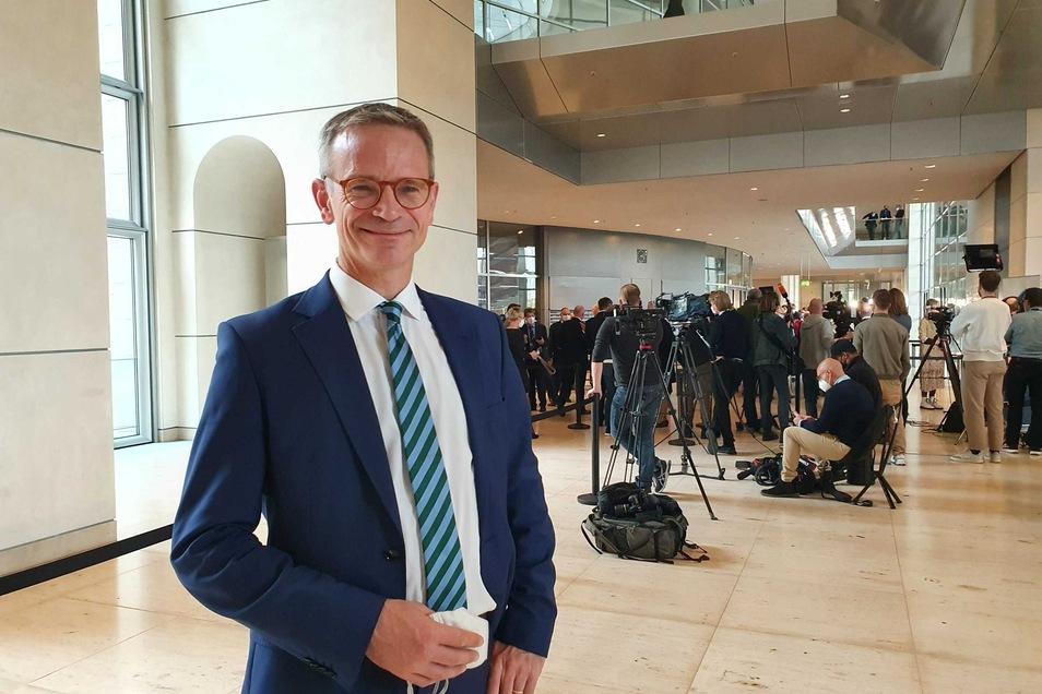 Markus Reichel (CDU) am Rande der ersten Bundestagssitzung in Berlin.