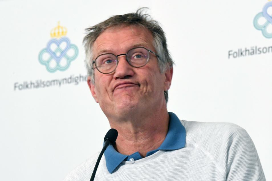 Der schwedische Staatsepidemiologe Anders Tegnell polarisiert.