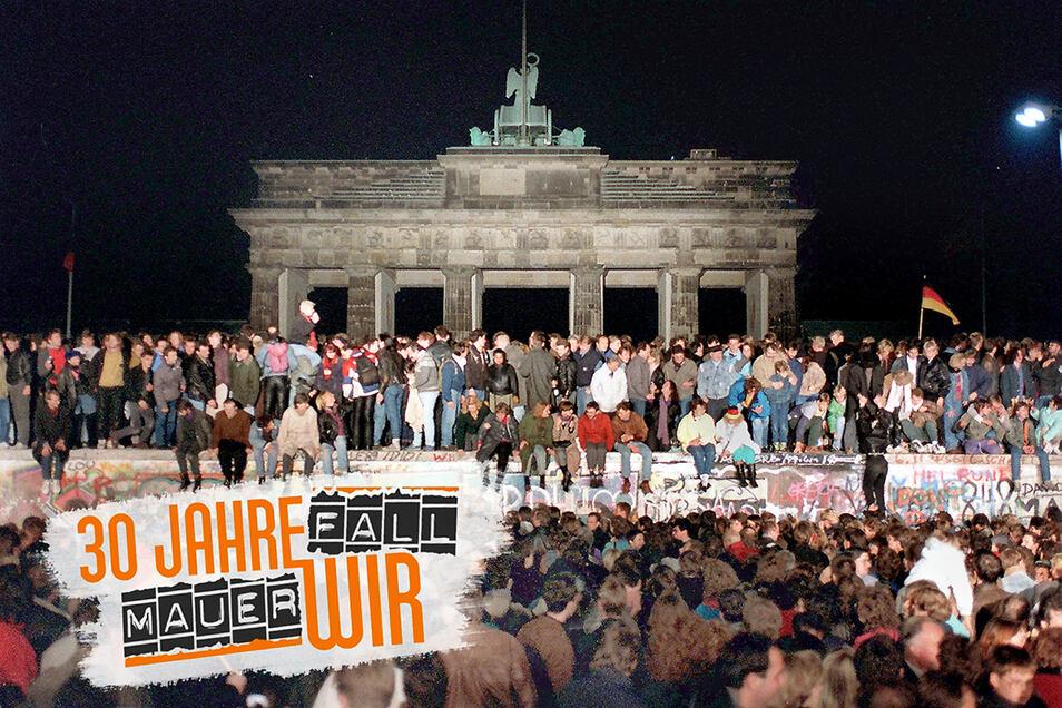 Jubelnd besetzte Ost und West am 10. November 1989 die Berliner Mauer – es war eine Feier des glücklichen Augenblicks. Kaum einer dachte an die Folgen.