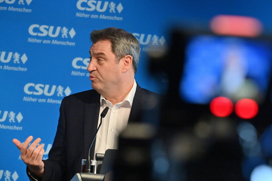 Der CSU-Chef und bayerische Ministerpräsident Markus Söder