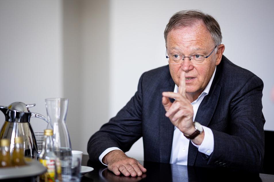 Stephan Weil (SPD), Ministerpräsident von Niedersachsen