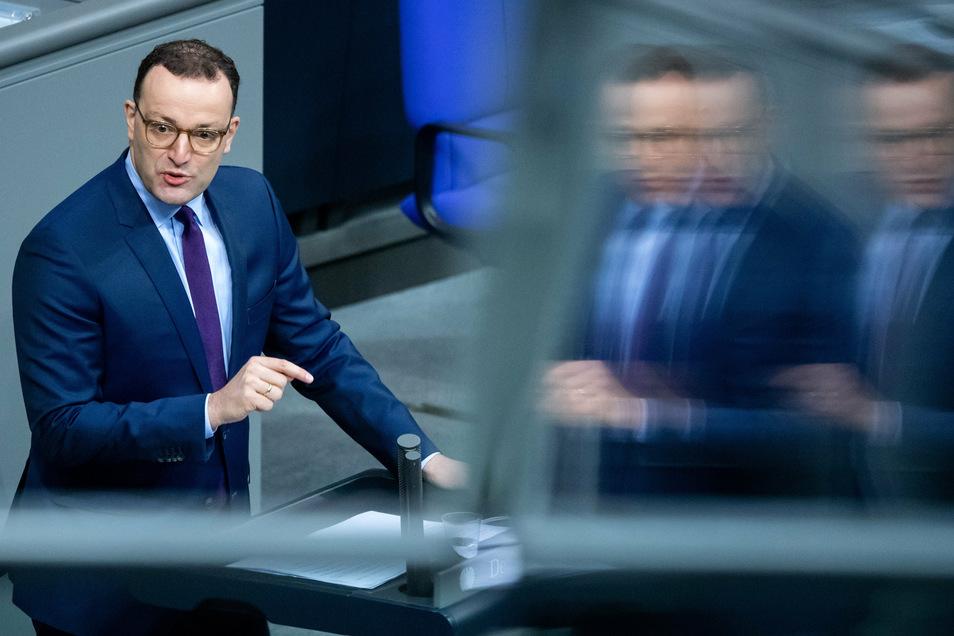 Bundesgesundheitsminister Jens Spahn denkt nicht, dass es in diesem Winter Veranstaltungen mit mehr als zehn bis 15 Personen geben wird.