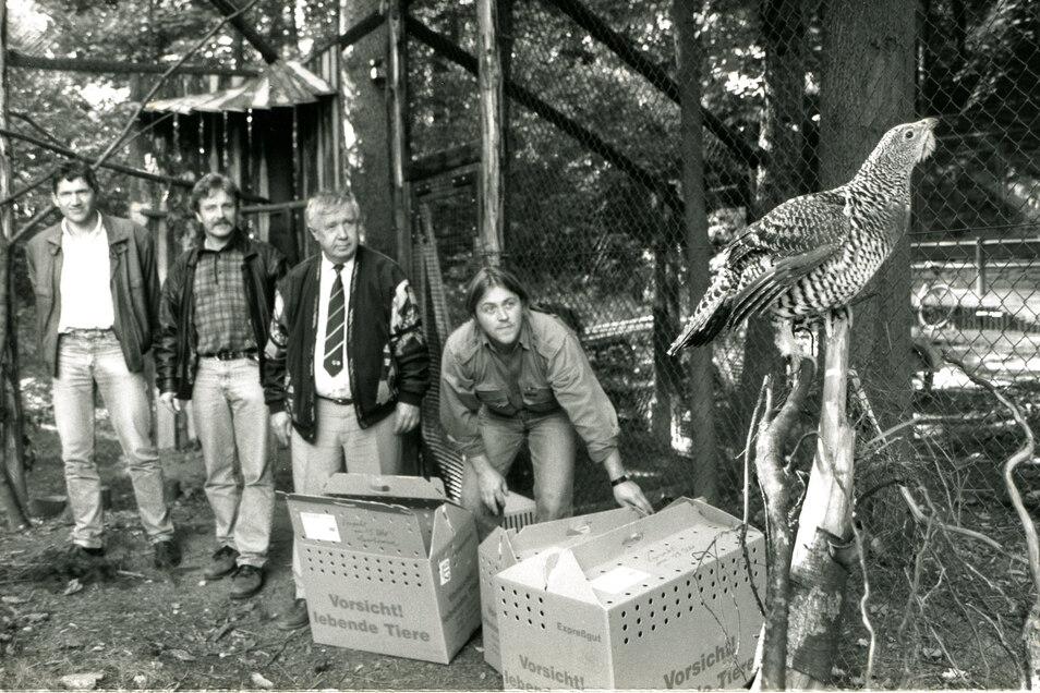 Mit Andreas Stegemann (rechts), seinem jetzigen Nachfolger, arbeitete Bernd Großer bereits seit 1989 zusammen.