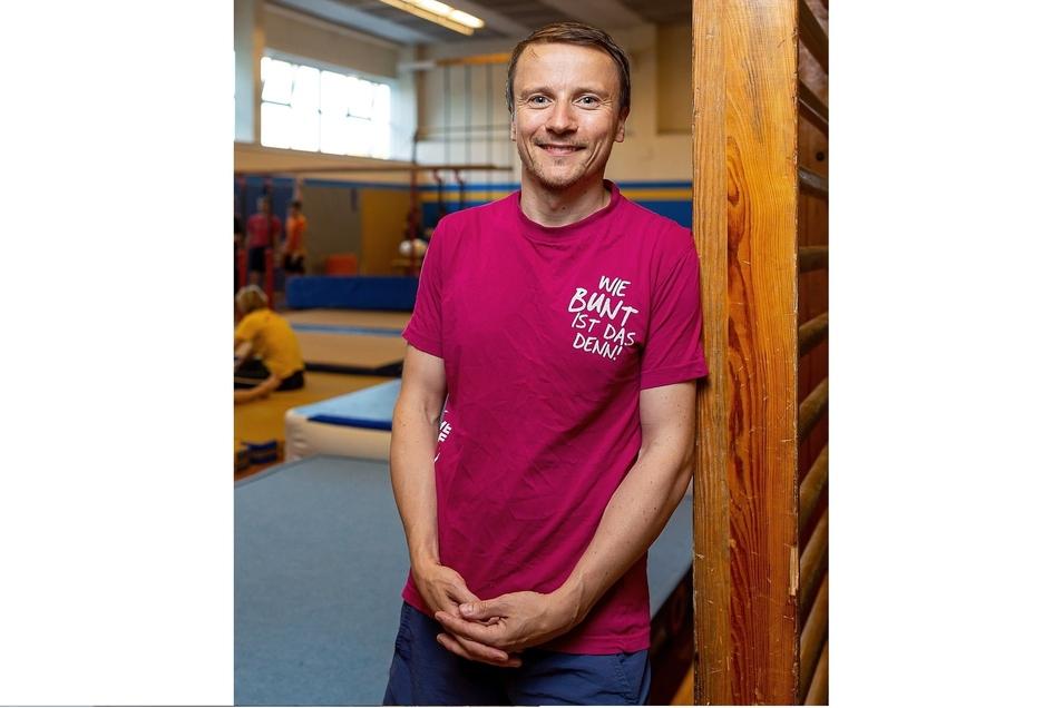Ronny Michalsky ist Chef des Männer-Turnens bei Empor und einer der Organisatoren der großen Gala.