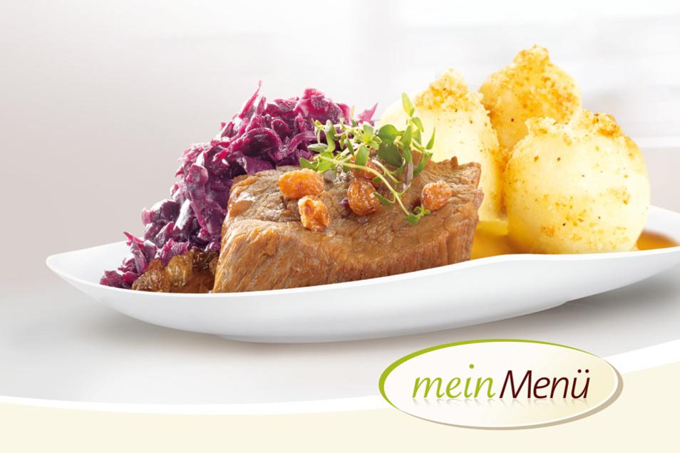 Von Montag bis Freitag bietet mein Menü täglich fünf frisch zubereitete warme Menüs sowie einen frischen Salat und ein kaltes Menü an. An Wochenenden und Feiertagen stehen jeweils zwei Menüs zur Auswahl.