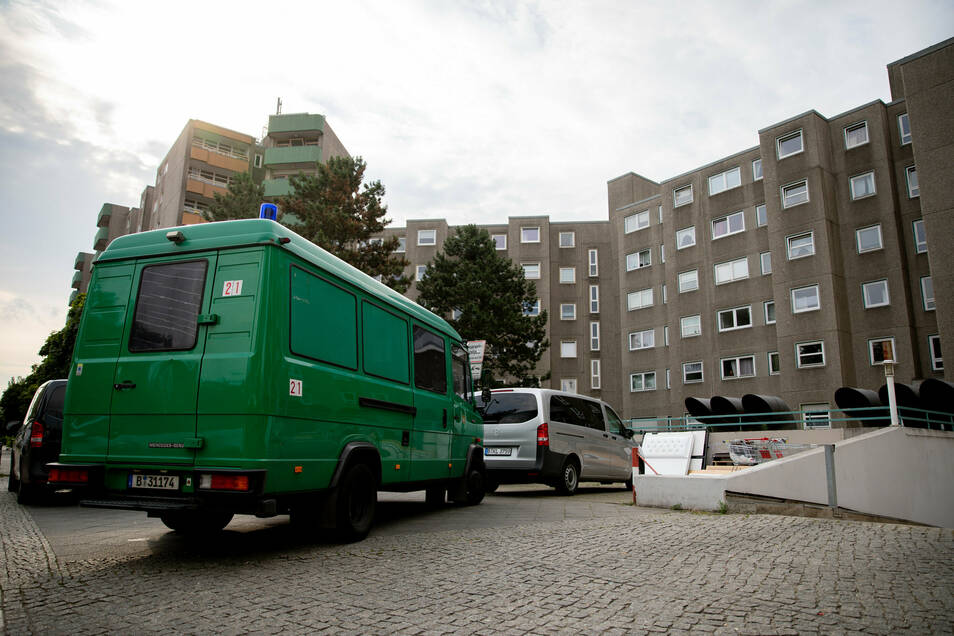 Die Polizei durchsuchte Wohnungen - hier ein Symbolfoto - in Wilsdruff und Klipphausen.
