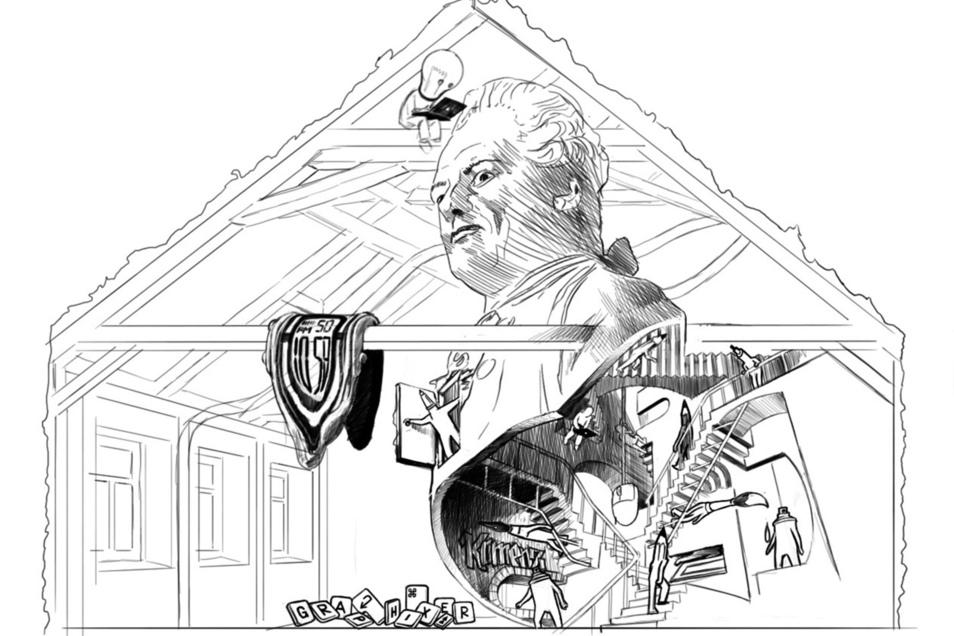 Lessing tauchte in den Vorschlägen der Künstler immer wieder auf.