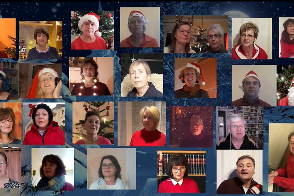 """""""Walking In A Winter Wonderland"""" – per Video meldete sich der KuFa-Bürgerchor in der Weihnachtszeit mit einem per Video-Schalte entstandenen Video."""