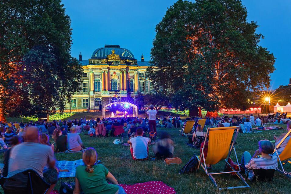 """Auch der Palaissommer bekommt von der Stadt Dresden finanzielle Hilfe aus dem Paket """"Kunst trotzt Corona""""."""