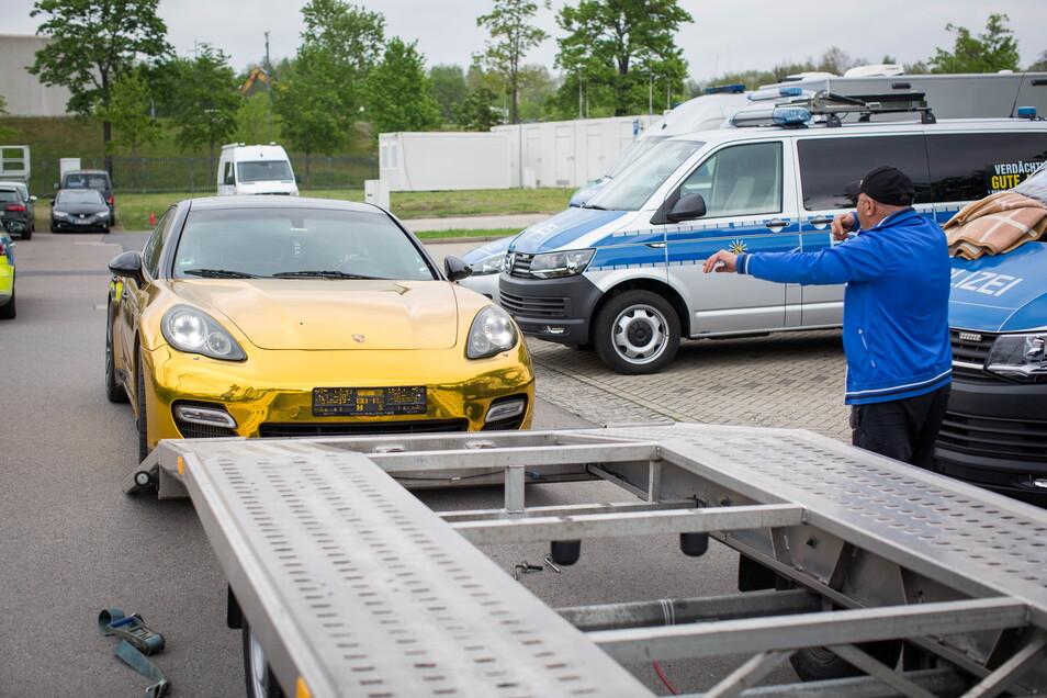 Die Kennzeichen des bulgarischen Autos hatte die Polizei einkassiert.