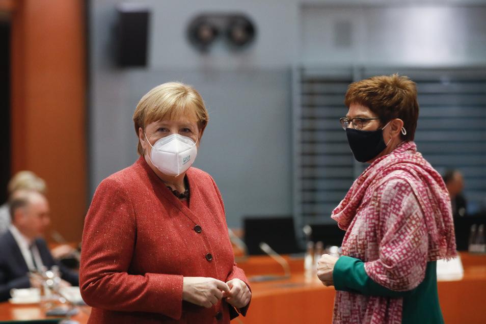 Annegret Kramp-Karrenbauer übernahm zeitweise den CDU-Parteivorsitz.