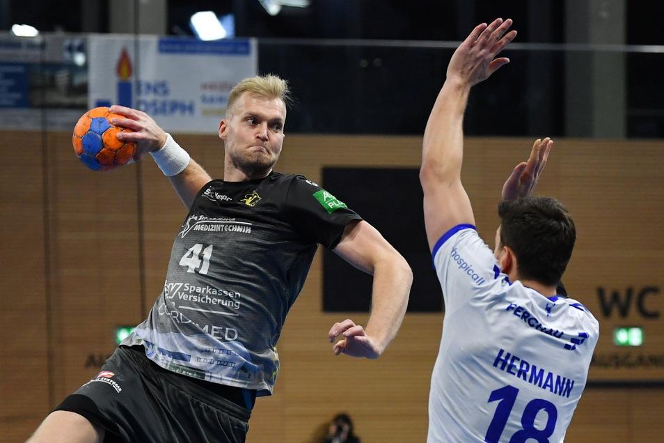 Michal Kasal (l.) wird nur noch ein Spiel für Dresden absolvieren. Danach spielt er Champions League - in Asien.