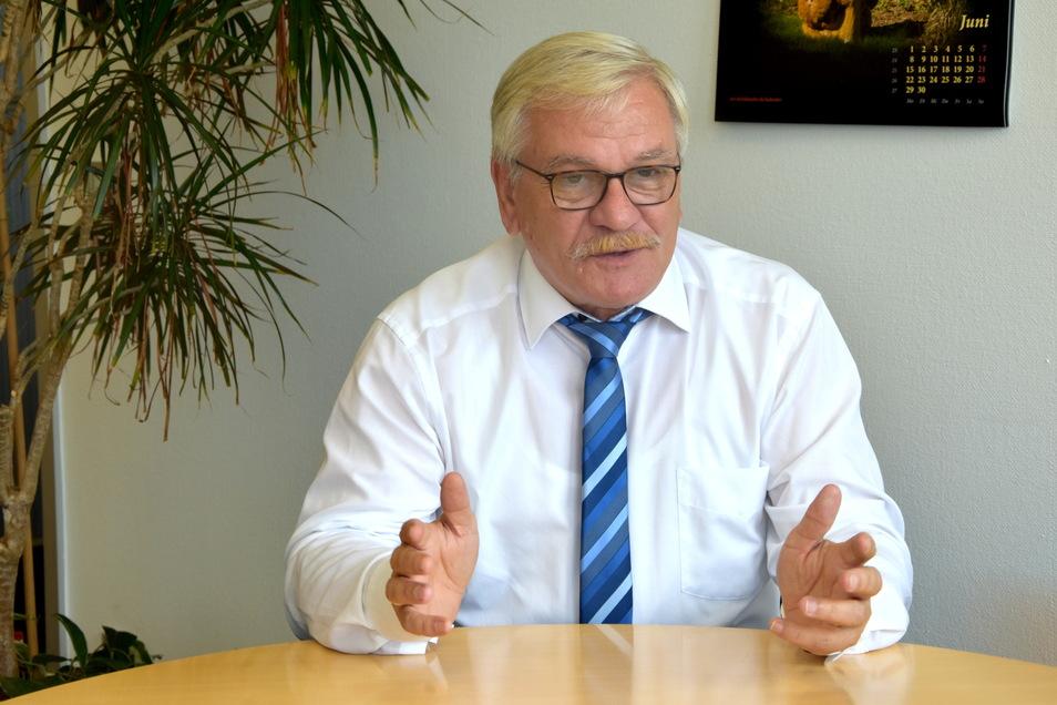 Dr. Detlef Hamann, Hauptgeschäftsführer der Industrie-und Handelskammer Dresden, spricht im SZ-Sommerinterview über die Folgen des Lockdowns für Gastronomie und Handel.
