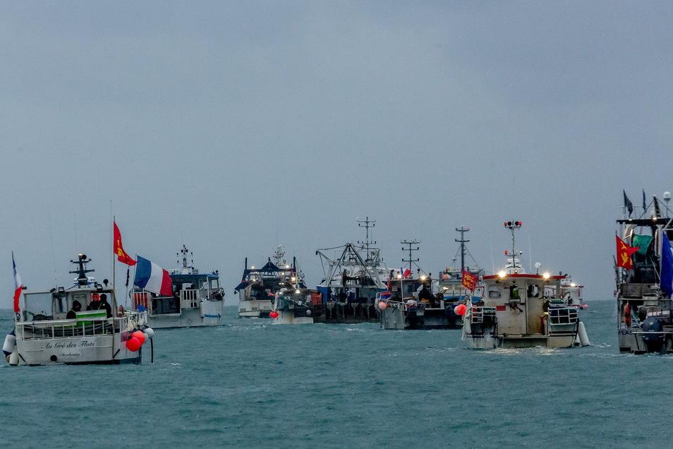 Französischen Fischerboote haben ihre Blockade der Kanalinsel Jersey beendet
