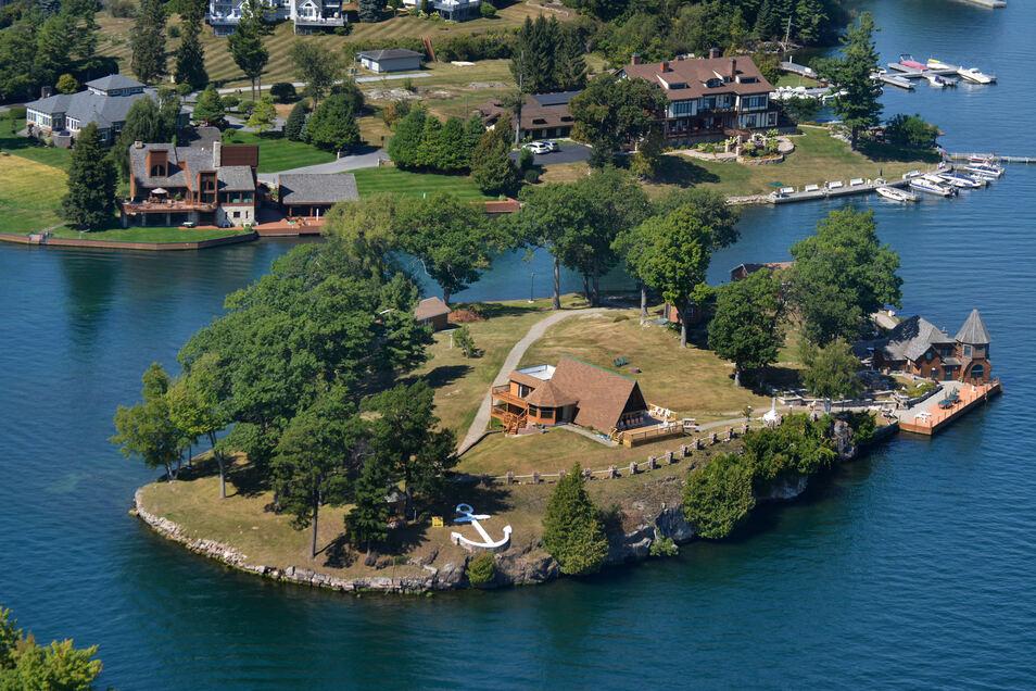 Hübscher Rückzugsort: St. Elmo Island im US-Bundesstaat New York lässt sich über Vladi Private Islands mieten.