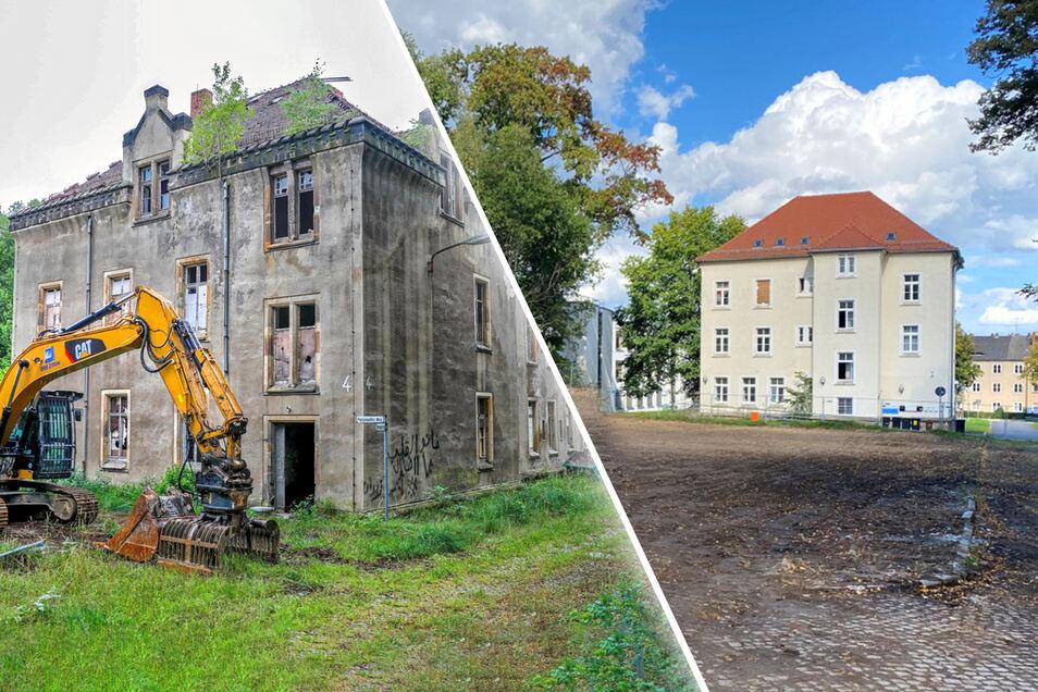 Wieder ist ein Gebäude in Zittau abgerissen worden.