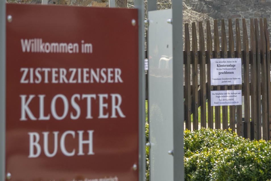 Das Kloster Buch bleibt auch über Ostern geschlossen. Den für Sonnabend geplanten Frischemarkt haben die Förderer auf Empfehlung der Stadt Leisnig wieder abgesagt - weil die Gesundheit aller vorgeht.