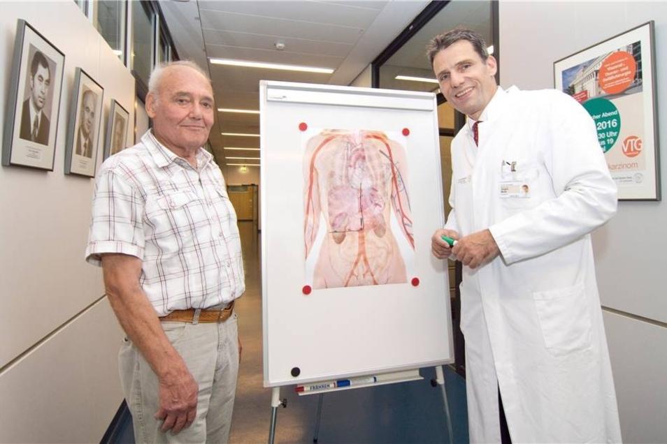 Uni-Klinikum Dresden: 8012 Mitarbeiter