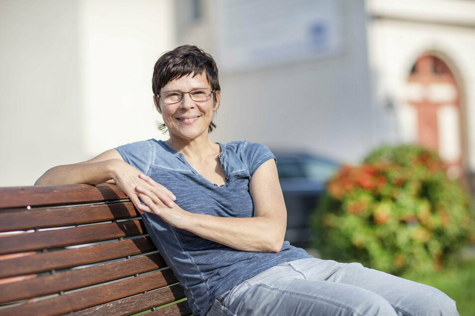 Die 54-jährige Michaela Steuer verlässt nach fast 30 Jahren die Stauchitzer Gemeindeverwaltung.