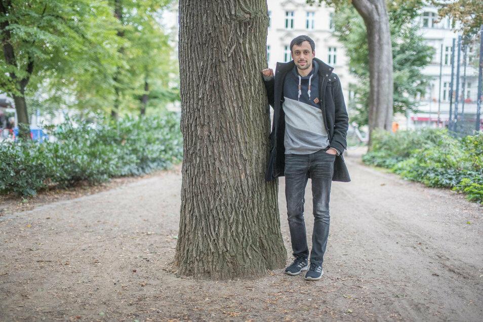 Der gläubige Jude Ezra Waxman forscht an der TU Dresden zur analytischen Zahlentheorie. Den Terroranschlag von Halle erlebte er in der Synagoge.