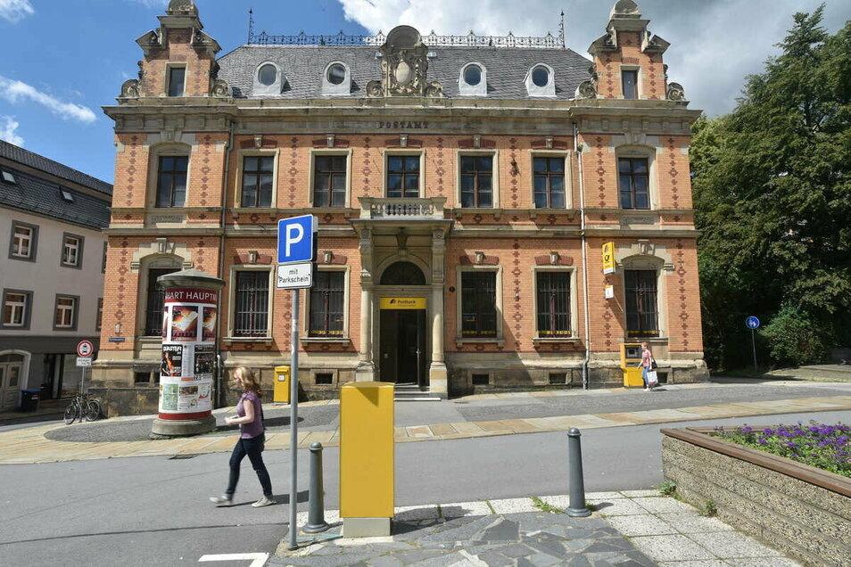 Die ehemalige Zittauer Hauptpost.