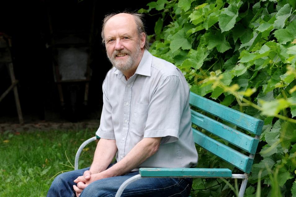 Manfred Hammer hat sein Stottern überwunden. Wie das geht, möchte er an Betroffene weitergeben.