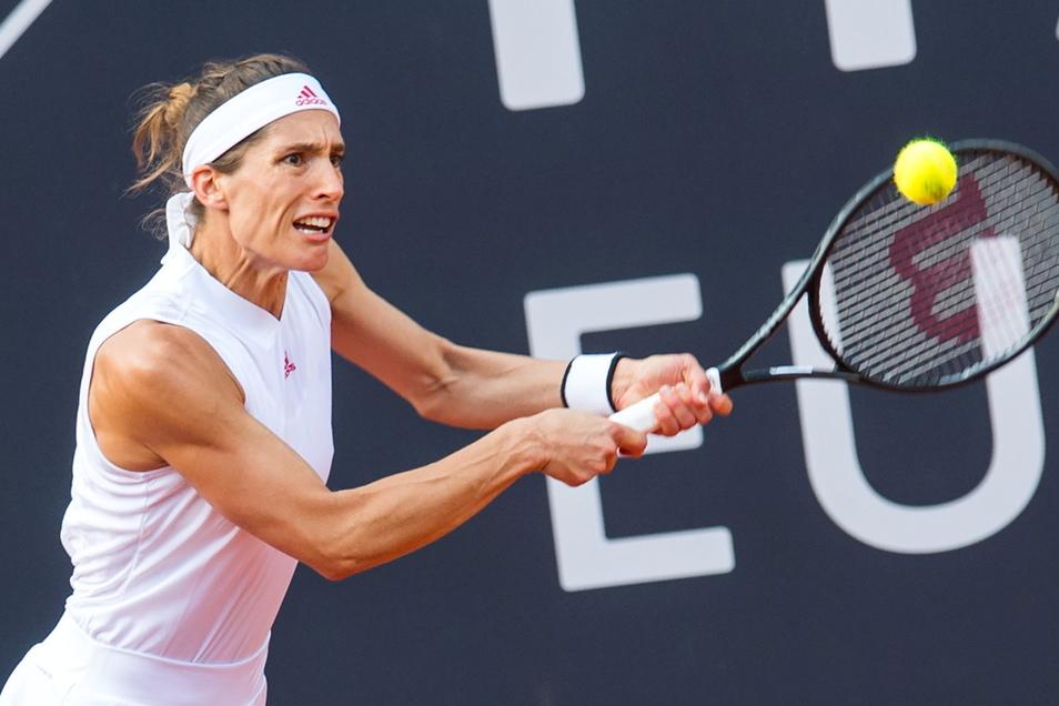 Steht in Hamburg im Halbfinale und spielt deshalb nicht in Dresden: Andrea Petkovic.