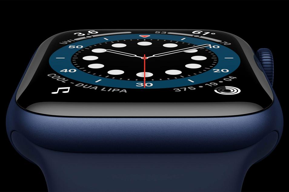 Apple hat die neue Apple Watch Series 6 vorgestellt.